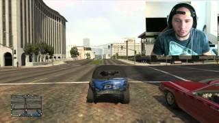 WHITE SON, BLACK DAD on Grand Theft Auto V GTA 5 Funny Moments