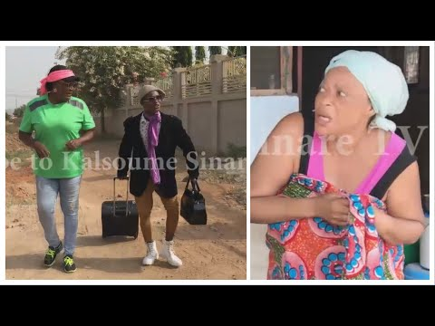 KALSOUME Welcomes SHOWBOY And His Wife From Abroad😂😂😂(Kalsoume Sinare Funny Movie Clip)
