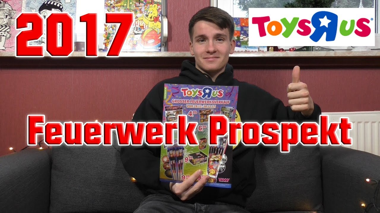 Toys \'R\' Us Feuerwerk Prospekt 2017/2018 | Kaufberatung ...