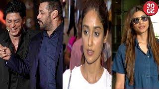 Shahrukh Khan-Salman Khan Shoot Together |Ileana,Daisy,Gauhar  Snapped At The Airport