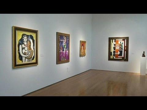 Christie's modern art sale in New York