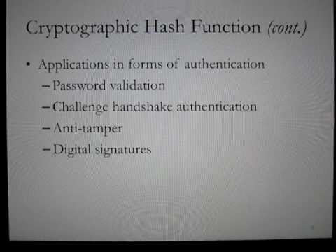 SHA-2 Cryptographic Hash Function