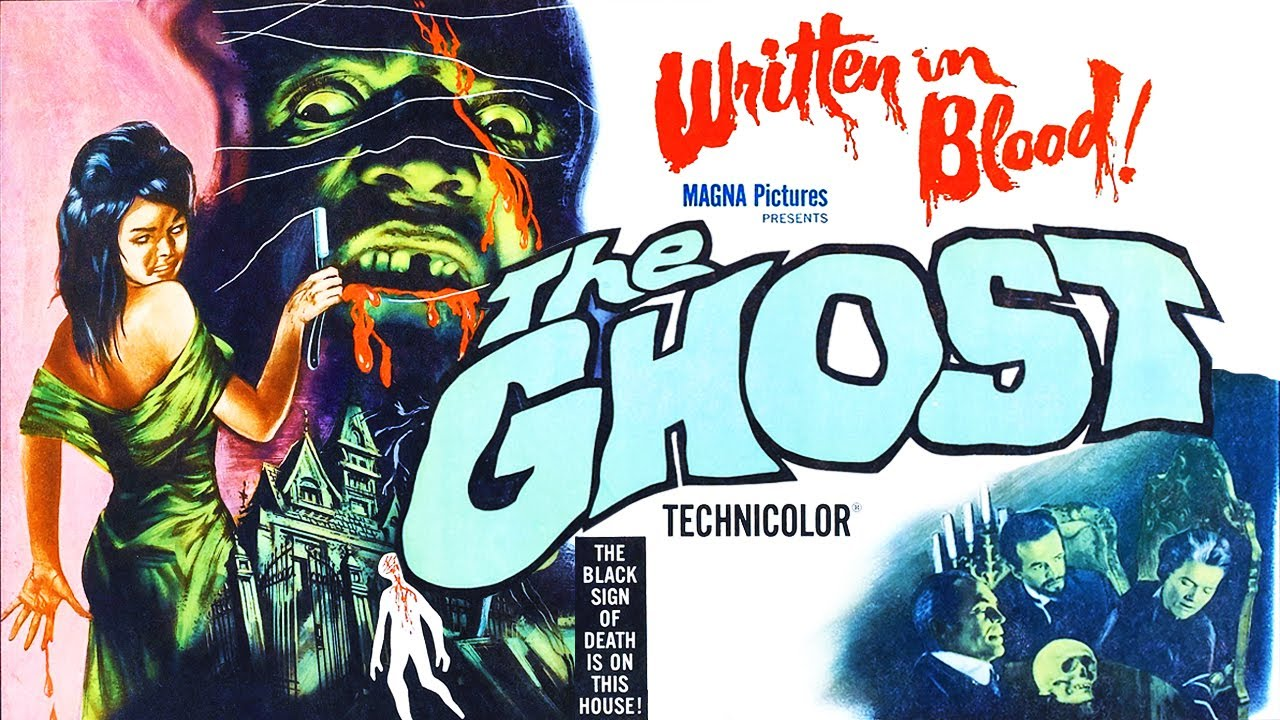 Download The Ghost - Full Movie - Color - Gothic Horror/Suspense - Barbara Steele (1963)
