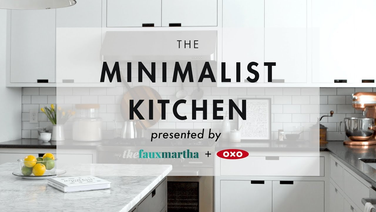 The Minimalist Kitchen The Faux Martha