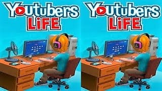Youtubers Life 3D VR box TV video Side by Side SBS google cardboard