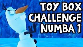 Disney Infinity 3.0 Toy Box Challenge #1 vs. Blitzwinger!! Olaf's Chilling Challenge!!