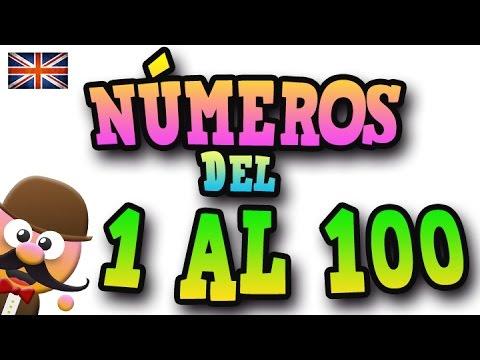 Los Números Del 1 Al 100 En Inglés Aprende Inglés Con Mr Pea English For Kids Youtube