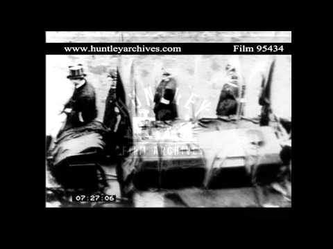Funeral of General Booth of the Salvation Army  Archive film 95434