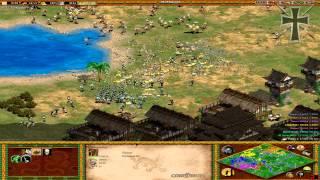 Age of Empires II - 91ª Partida Multijugador En Línea - Lucas, Iván, Julia y Fede