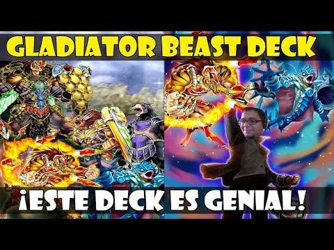 GLADIATOR BEAST/BESTIA GLADIADOR DECK | ¡EL NUEVO DECK META QUE ME ENCANTA! - DUEL LINKS