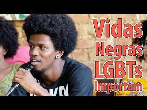 Vidas Negras LGBTs importam - A poesia de Jump