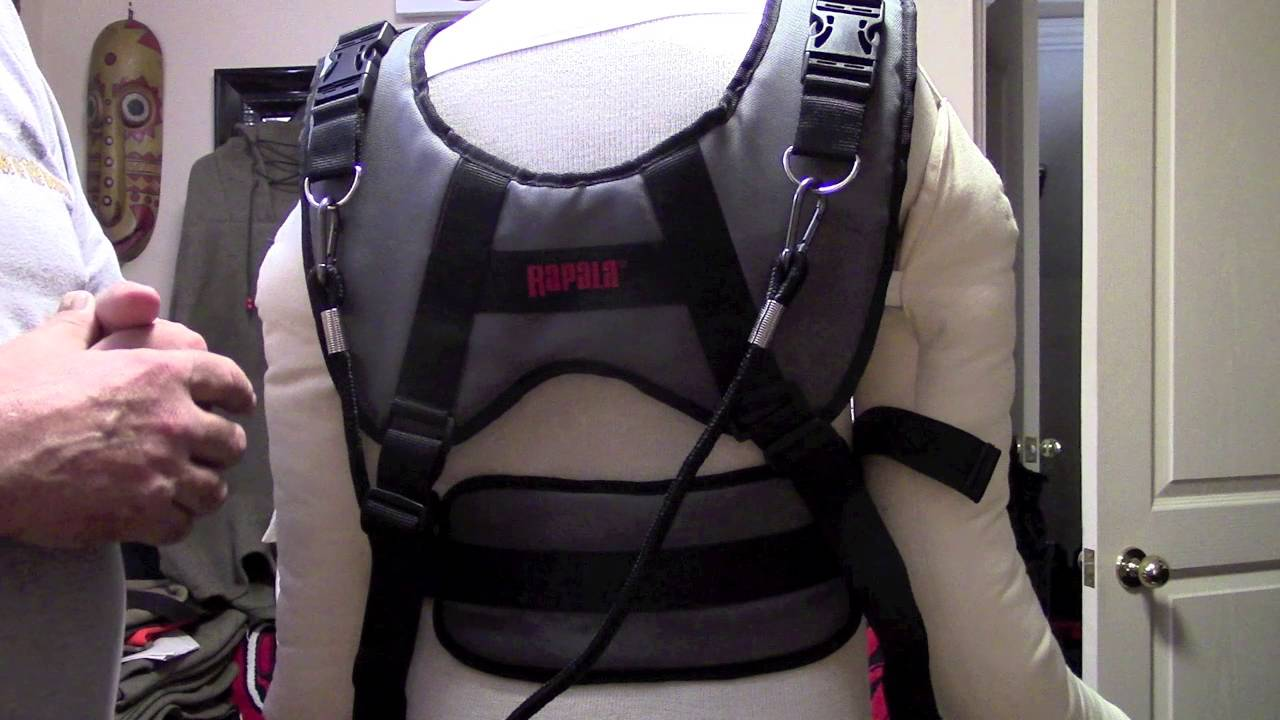 Rapala Sled Pulling Harness Review - YouTube