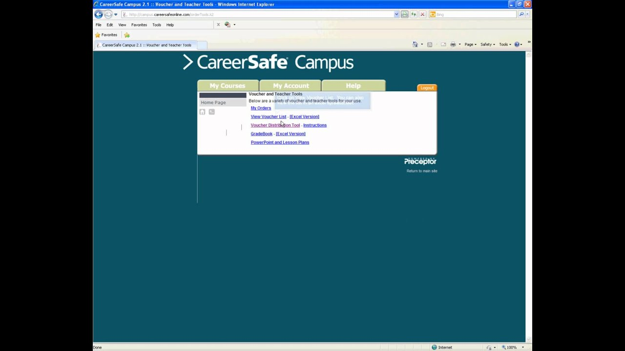 careersafecampus How-to find our CareerSafe Training Voucher - YouTube