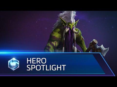 Zul'jin Spotlight – Heroes of the Storm