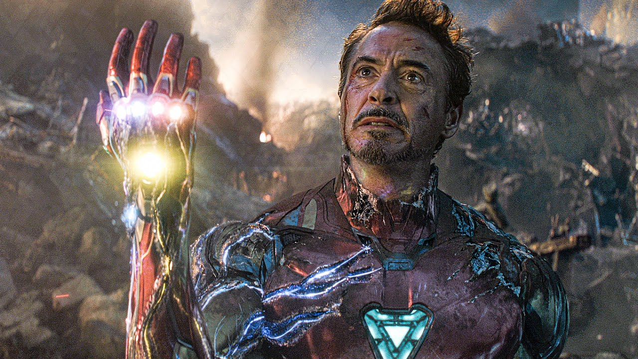 I Am Iron Man Snap Scene Avengers 4 Endgame 2019 Movie Clip