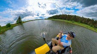 ПРОСТАЯ РЫБАЛКА БЕЗ ПОНТОВ ТЕХНИКИ ТОЛЬКО Я И СПИННИНГ Ловля щуки летом рыбалка на спиннинг