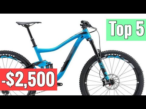 Top 5 Full Suspension Mountain Bikes Under $2,500