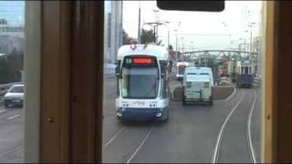 Trams de Genève : Essais sur le TCMC du 9.12.2009.wmv