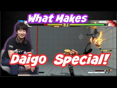 "[Daigo] Why Daigo Wins More Than Other Players. ""It's Neither My Execution Or Patience..."""