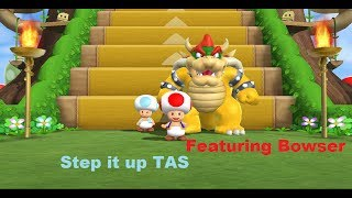 Mario Party 9 - Step it up [TAS] [Featuring Bowser]