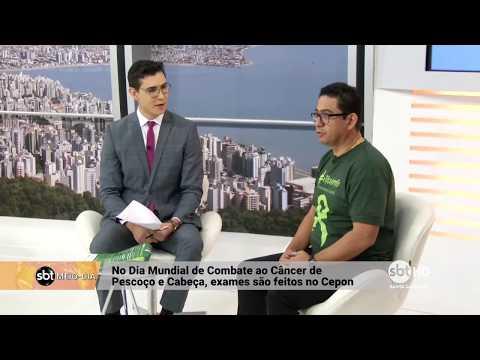 Cepon realiza exames no Dia Mundial de Combate ao Câncer de Pescoço e Cabeça