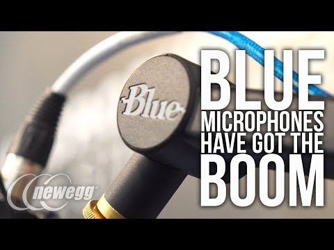 Blue Microphones Have Got The BOOM!