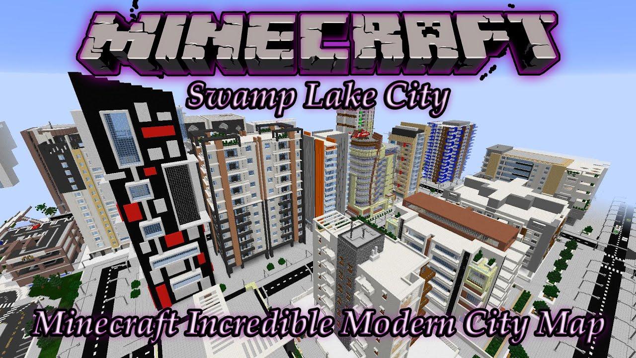 Minecraft awesome modern city map swamp lake city pc download minecraft awesome modern city map swamp lake city pc download youtube gumiabroncs Choice Image