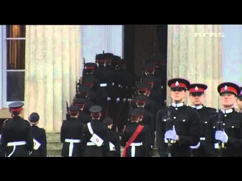 Top officer cadet chosen at Sandhurst 14.12.12