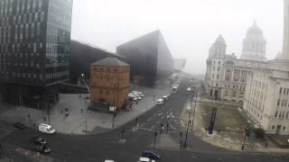 "Filming a scene in Liverpool (Possibly BBC2 drama ""Close To The Enemy""). GoPro."
