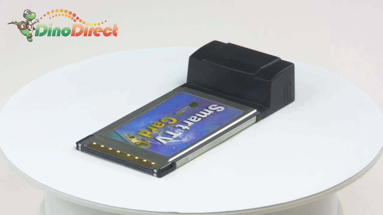 PCMCIA Cardbus Smart TV Tuner Card QS-402 from Dinodirect.com - YouTube