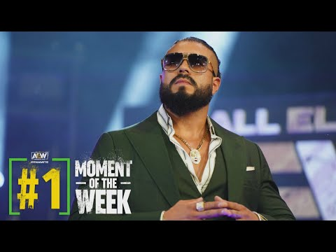 Andrade El Idolo is All Elite. Hear What He Had to Say! | AEW Friday Night Dynamite, 6/4/21