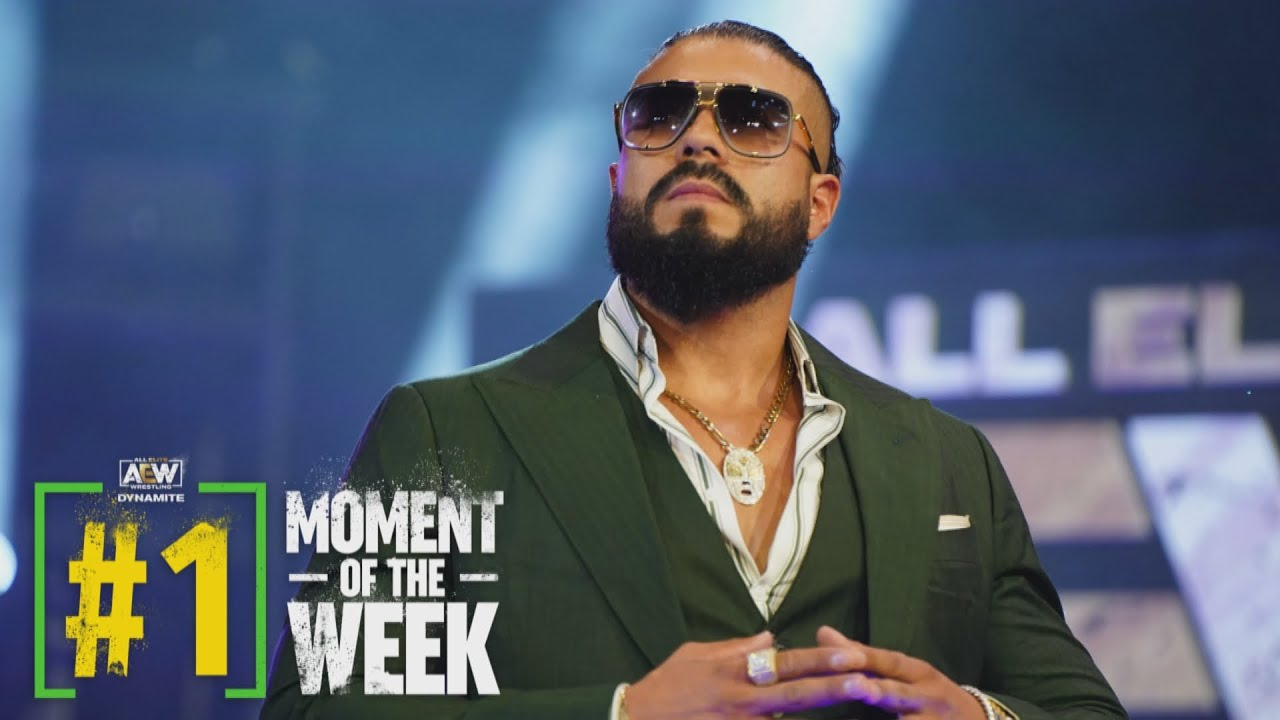 Download Andrade El Idolo is All Elite. Hear What He Had to Say!   AEW Friday Night Dynamite, 6/4/21