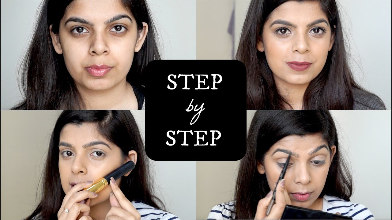 step by step makeup tutorial for beginners how to apply makeup beginner series 3 youtube. Black Bedroom Furniture Sets. Home Design Ideas