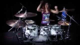 Resist and Bite - Sabaton - Nightcore Version - HD Drum Cover by Devikah