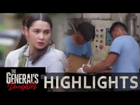 Jessie stops Franco's operation | The General's Daughter