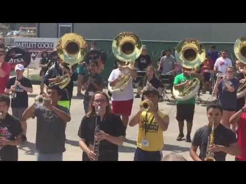 UTSA SBI Marching band