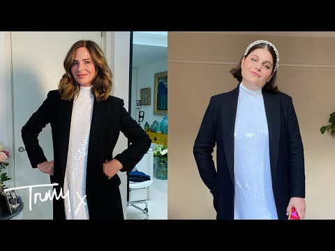 Friday Twinning: How To Style A Sparkly Dress | Fashion Haul | Trinny