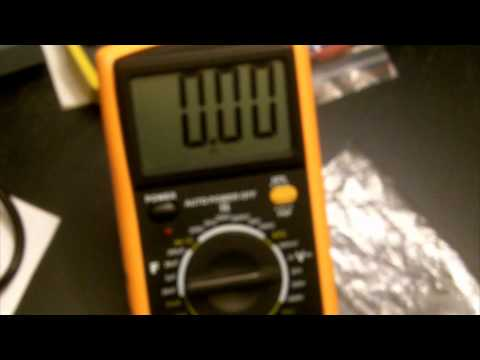 EXCEL DT9205A $10 Digital Multimeter overview and demostration