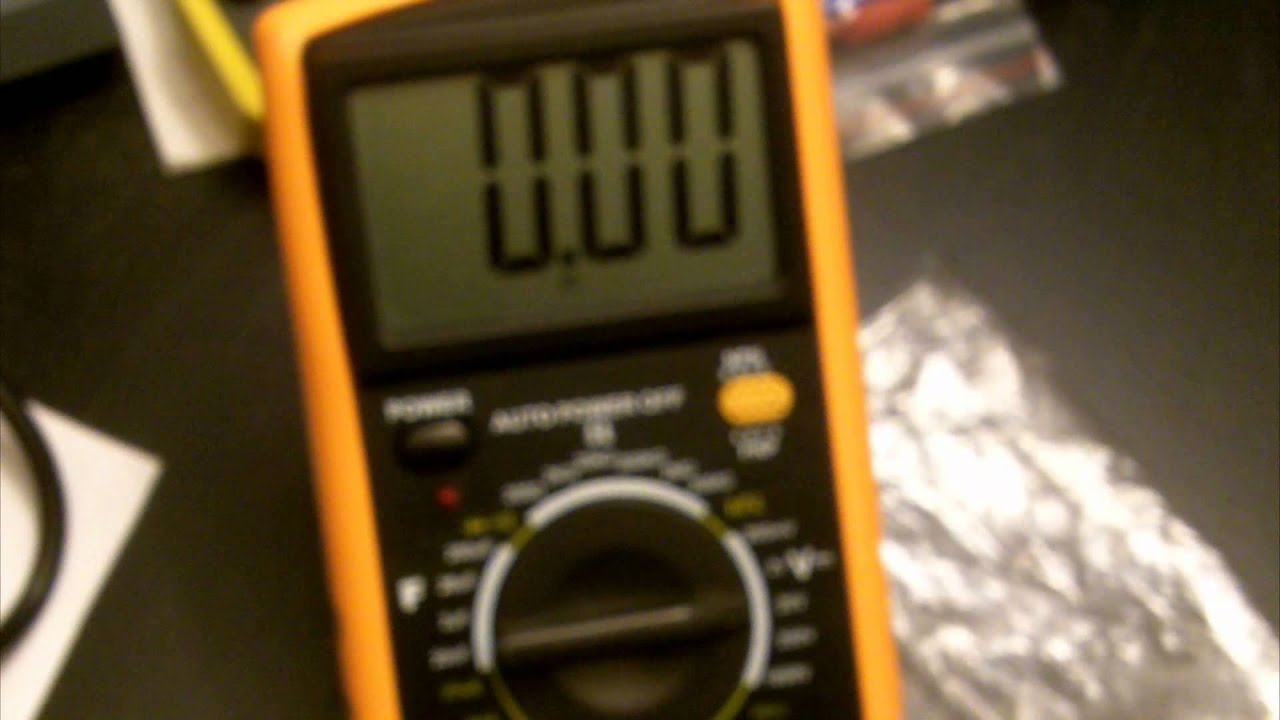 Excel Dt9205a 10 Digital Multimeter Overview And Demostration Youtube Wiring Diagram For 12 Volt Tef 20