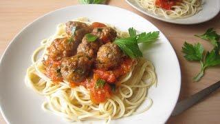 Recipe: Easy Meatball Spaghetti