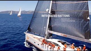 Elvstrøm Sails powering Oyster 885, Firebird