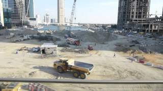 Dubai al Habtoor City and Creek extension works