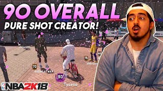 Video I GOT 90 OVERALL WITH A PURE SHOT CREATOR! BICYCLE REWARD REACTION AND RIDE AROUND in NBA2K18! download MP3, 3GP, MP4, WEBM, AVI, FLV September 2017