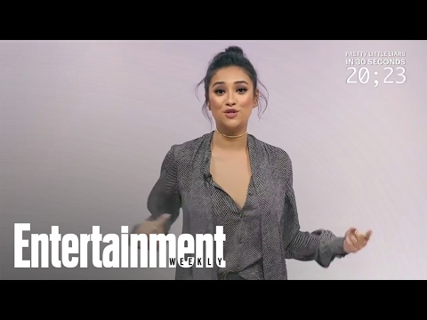 Pretty Little Liars Cast Explain Show In 30 Seconds | Entertainment Weekly