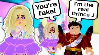 HE PRETENDED TO BE PRINCE J AND TRICKED ME 👑 // Roblox Royale High School