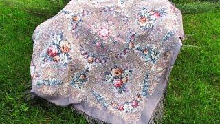 Павловопосадские платки. Часть 2. Как я ношу свои платочки.