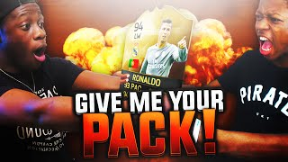 HOW I LOST 100K COINS IN 5 MINS !!! GIVE ME YOUR PACK IS BACK - FIFA 16 PACK OPENING SERIES