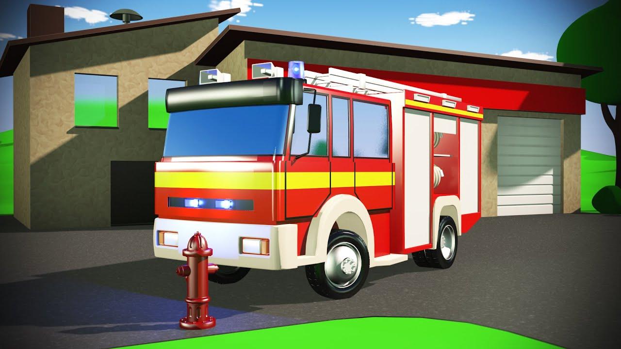 feuerwehr kinderfilm auto sam fire truck kids animation. Black Bedroom Furniture Sets. Home Design Ideas