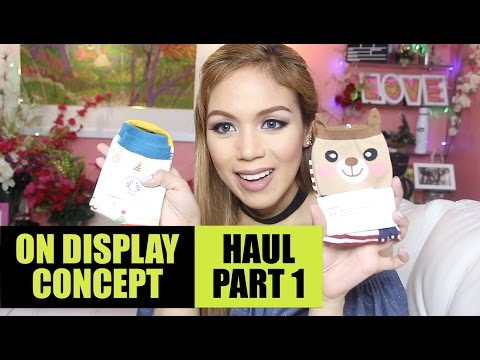 ON DISPLAY HAUL (PART 1) - candyloveart