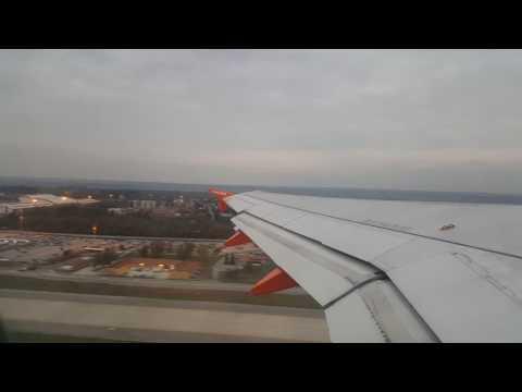 Easyjet decollo da Milano Malpensa EZY2831   Partenza 07:15